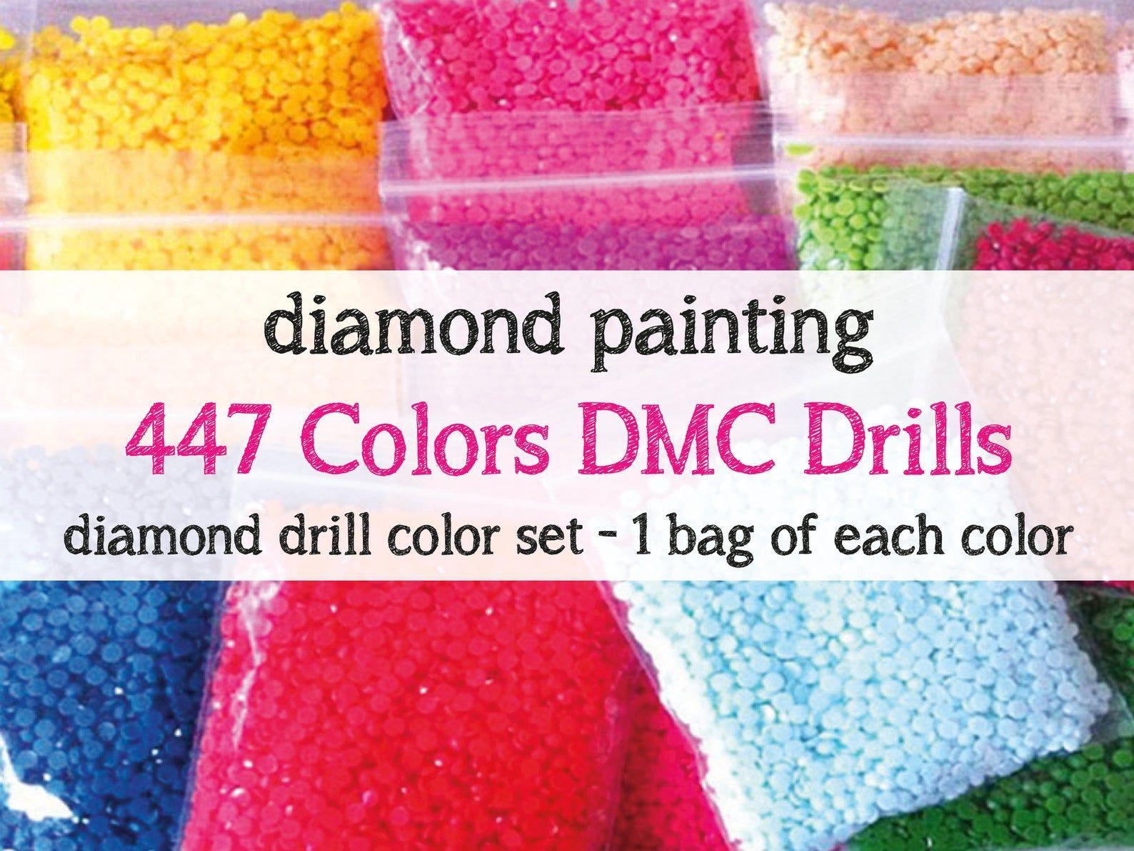 Diamond Painting SQUARE Resin Drills  FULL Set Square  Complete Set Drills  Resin Drills  Diamond Painting Accessories  USA Shipper