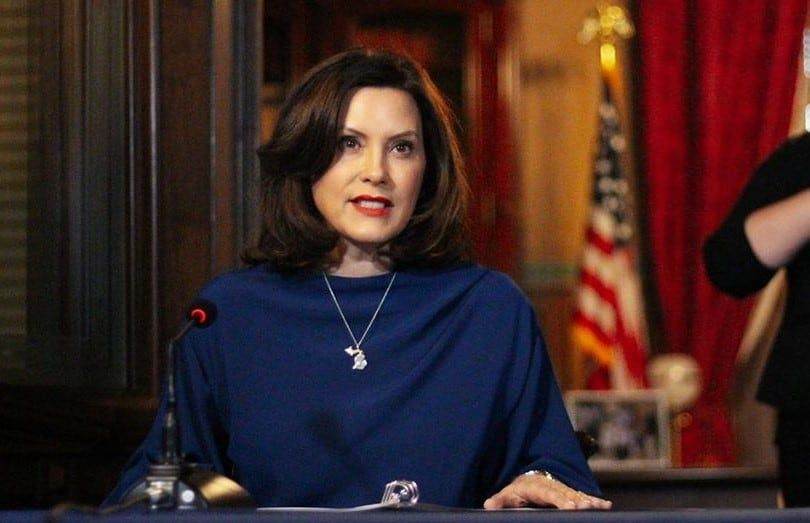 Gretchen Whitmer Net Worth 2020 Age Husband And Family Salary In 2020 Poster Pictures Pictures Of Michigan Photo Banner