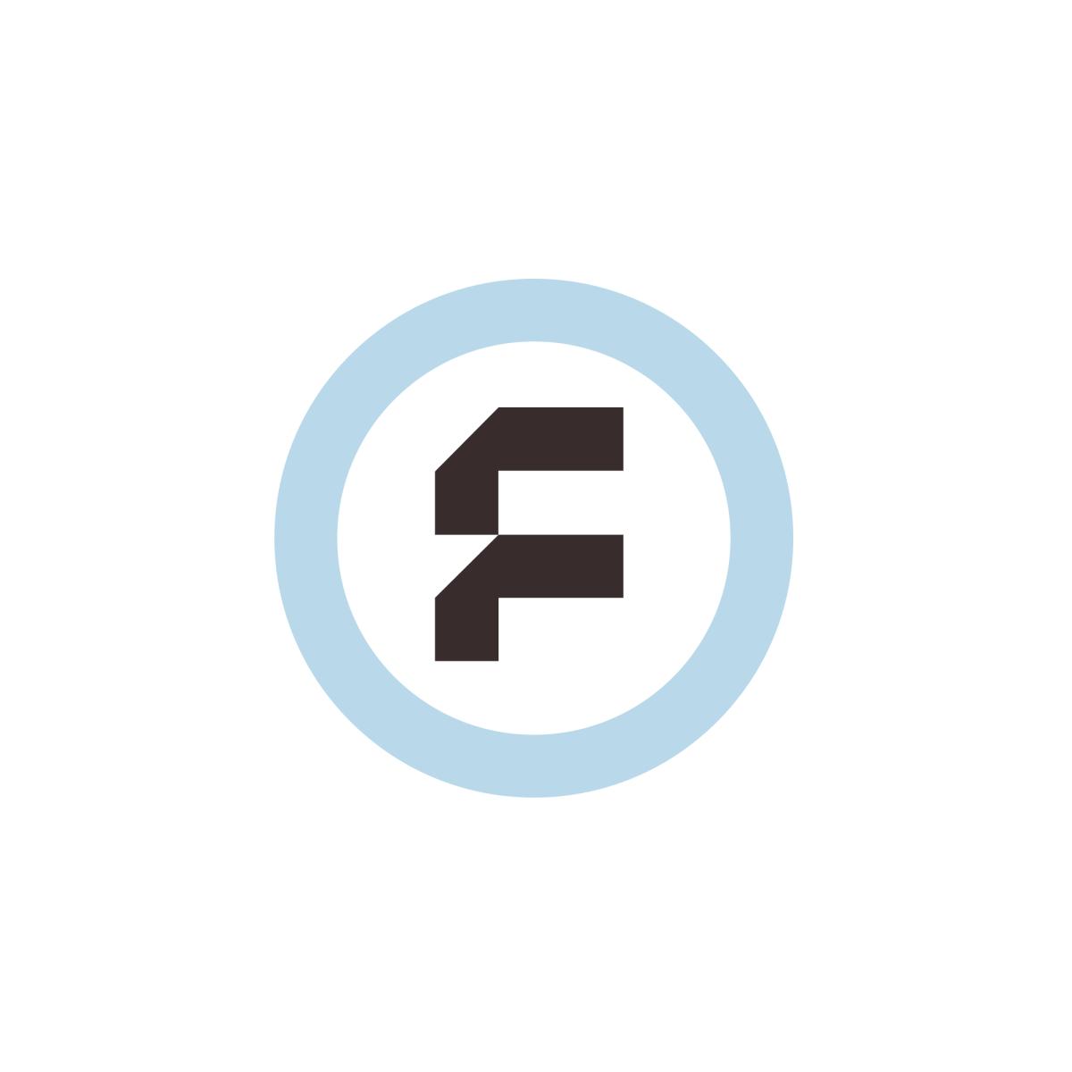 Fyber Old Logo Germany Letter Logo Single Letter Logo Letter F