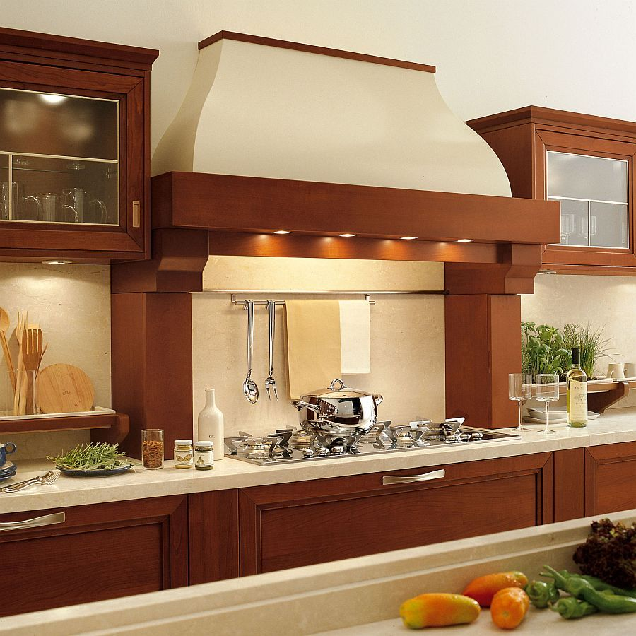 Attractive Chimney Design For Kitchen Awesome Certosa Luxury Kitchen Gives Timeless  Italian Design A Modern Inspiration