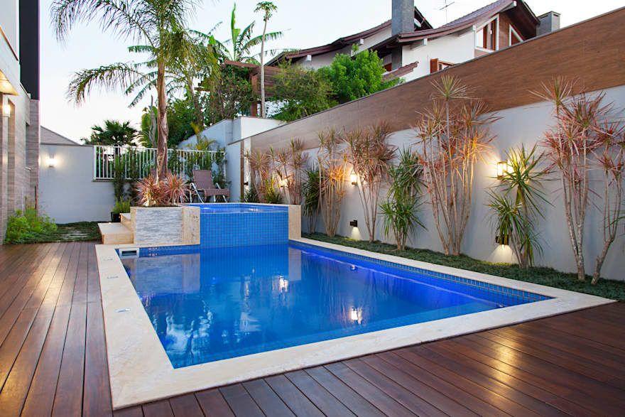 Resid ncia n c por andr pacheco arquitetura pool - Residencia de manila swimming pool ...