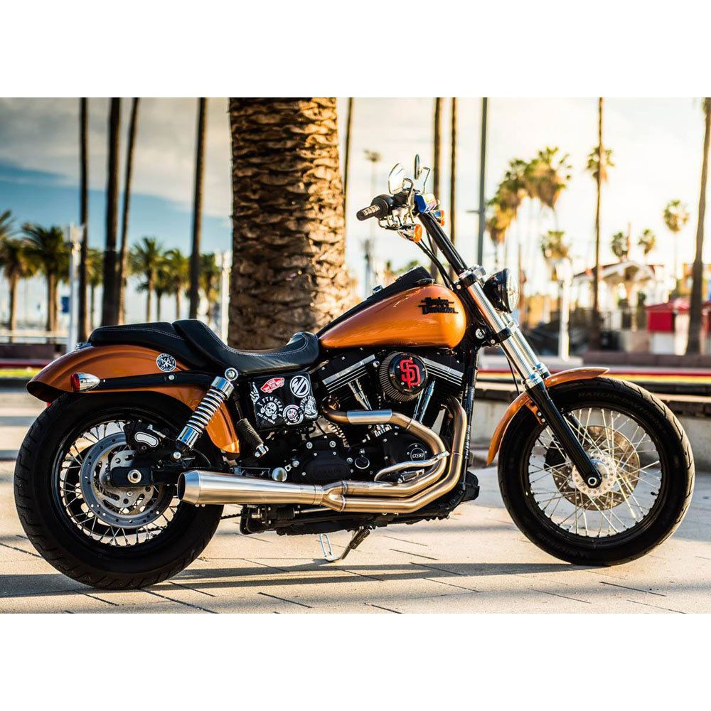 Bassani Road Rage 3 Stainless Exhaust for 19912017 Harley