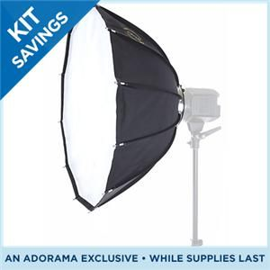 Glow ParaPop 28 Portable Softbox for Alien Bee White Lightening and Balcar