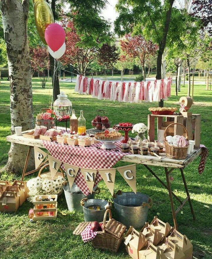 picnic party deko cumplea os picnic fiesta picnic und fiesta cumplea os. Black Bedroom Furniture Sets. Home Design Ideas