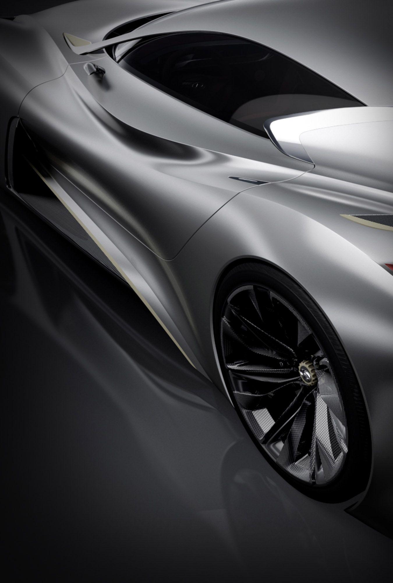 Gran Turismo Vision Concept Infiniti, introducing the