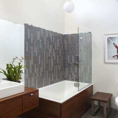 Industrial Design Ideas Pictures Remodel And Decor Bathtub Shower Combo Modern Tub Modern Baths