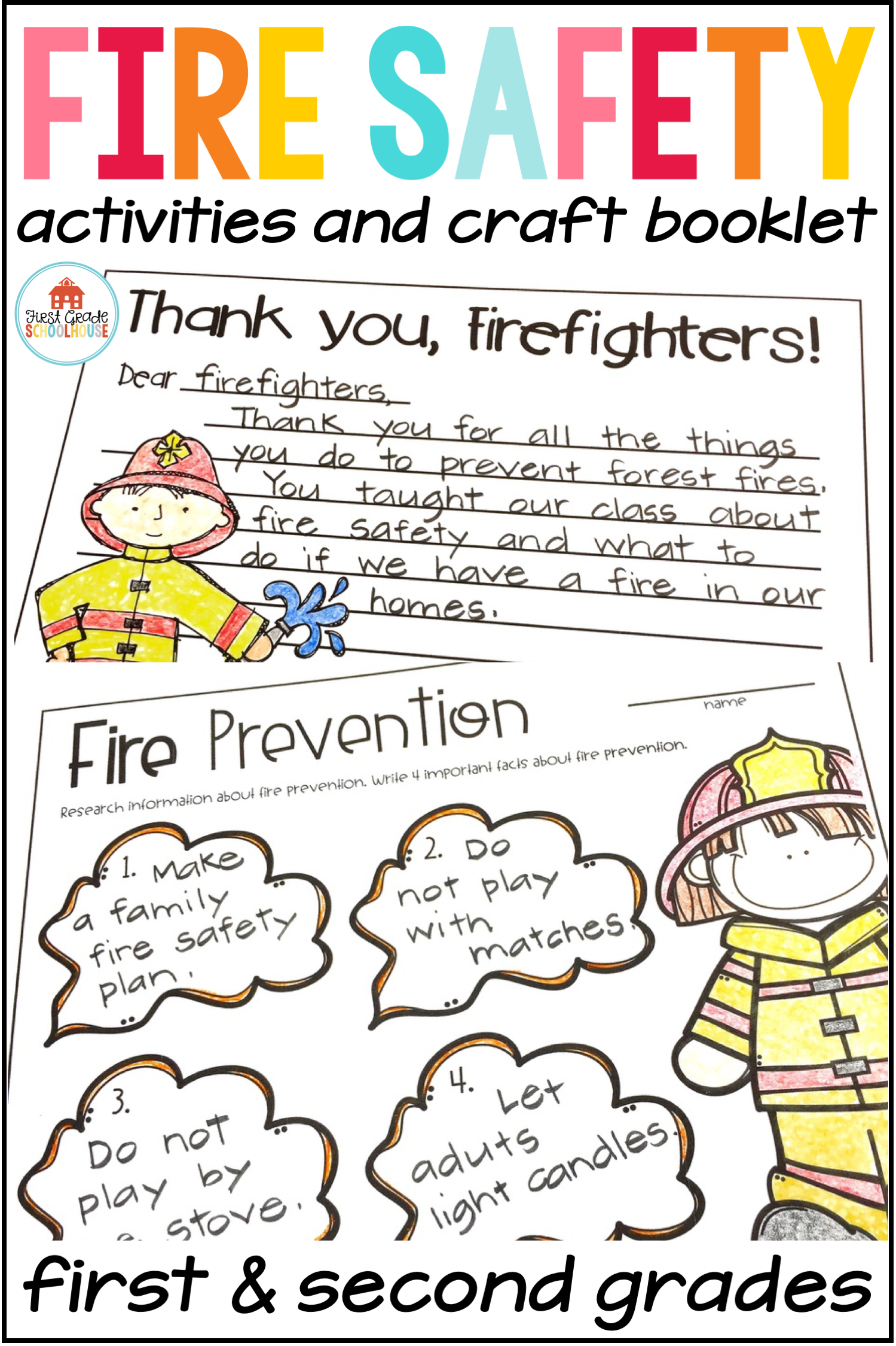 Learning About Fire Safety And Prevention Is Fun With These Activities That Are Perfect For Fire Prevent Fire Safety Activities Fire Safety Booklet Fire Safety [ 2249 x 1499 Pixel ]