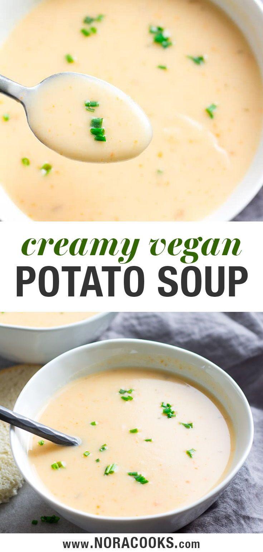 Easy Vegan Potato Soup
