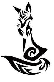 Bildergebnis Fur Fox Tattoo Tribal Drawings Tribal Animal Tattoos Tribal Fox