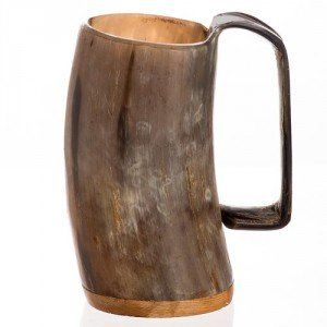 Ox Horn Tankard | Free Delivery | kiltmakers.co.uk