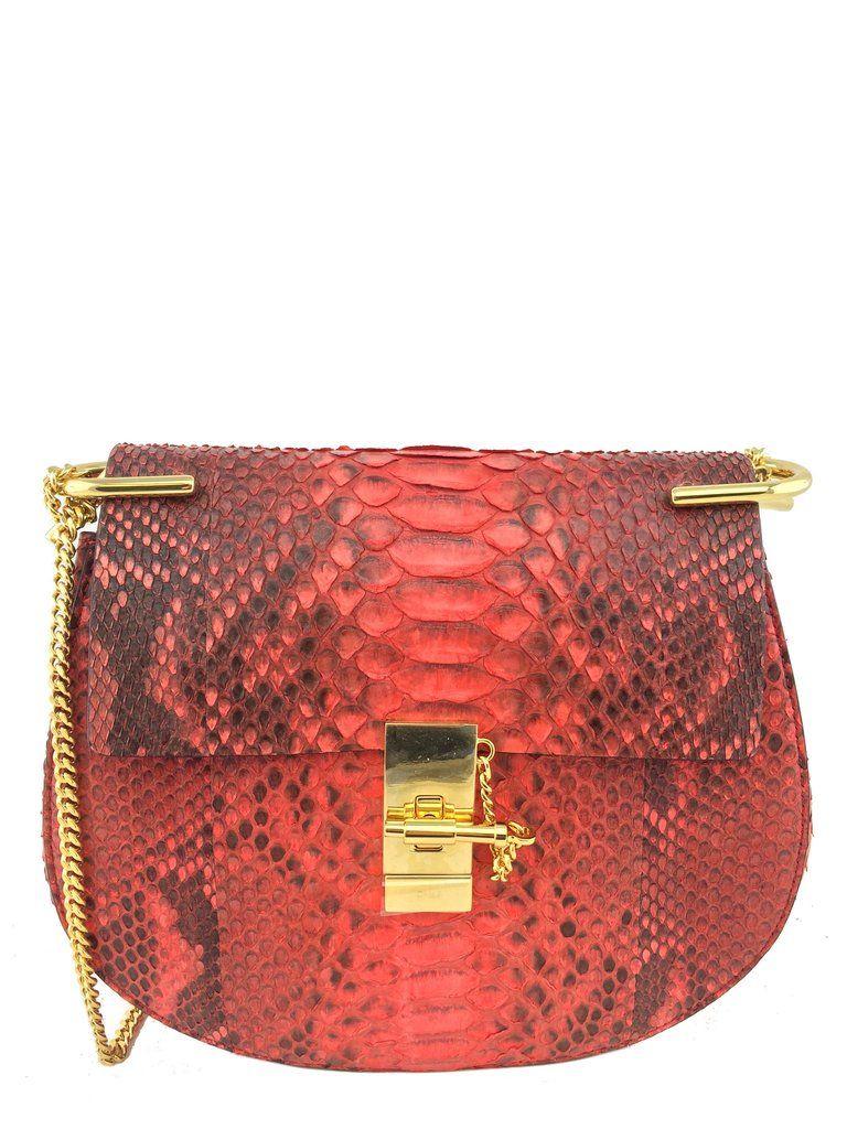 Chloe Python Drew Bag New Consigned Designs 1 Drew Bag