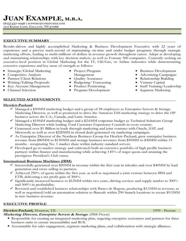 Marketing Resume Samples Check Out This Brand New Service