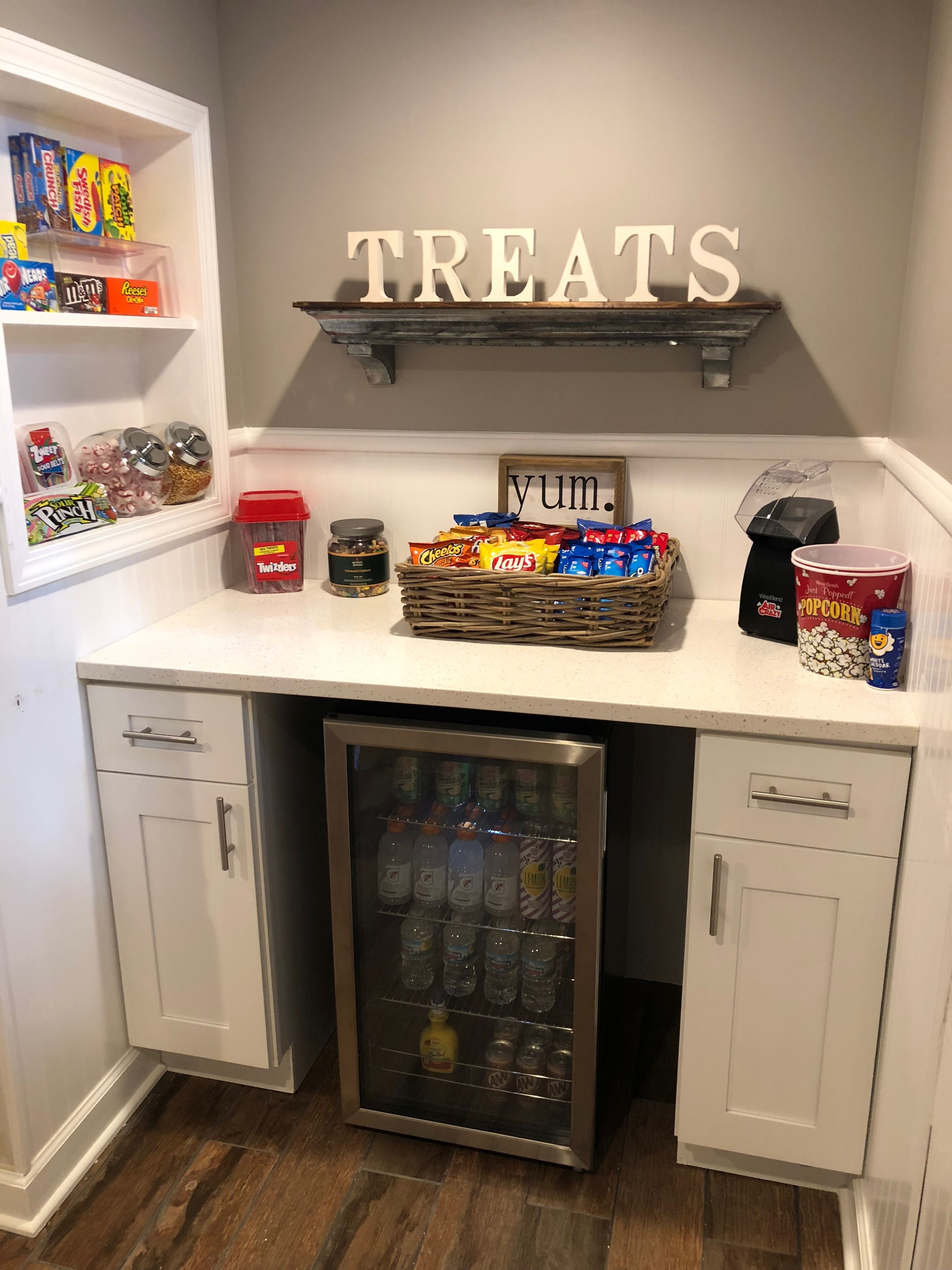 Home Snack Bar Home Theater Beverage Station Bars For Home Home Cinema Room Theater Room Decor