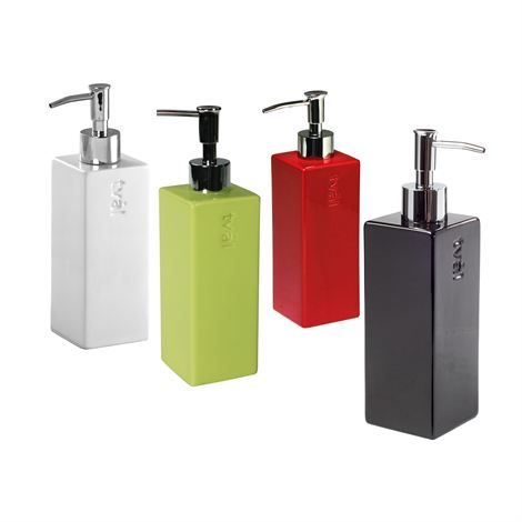 Square Soap Dispenser With Vibrant Color