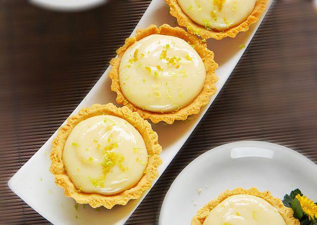 lemon & lime mini tarts