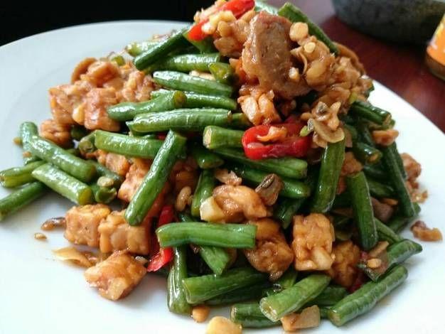 Resep Tumis Kacang Panjang Tempe Oleh Dini Saraswati Resep Tumis Memasak Resep Makanan