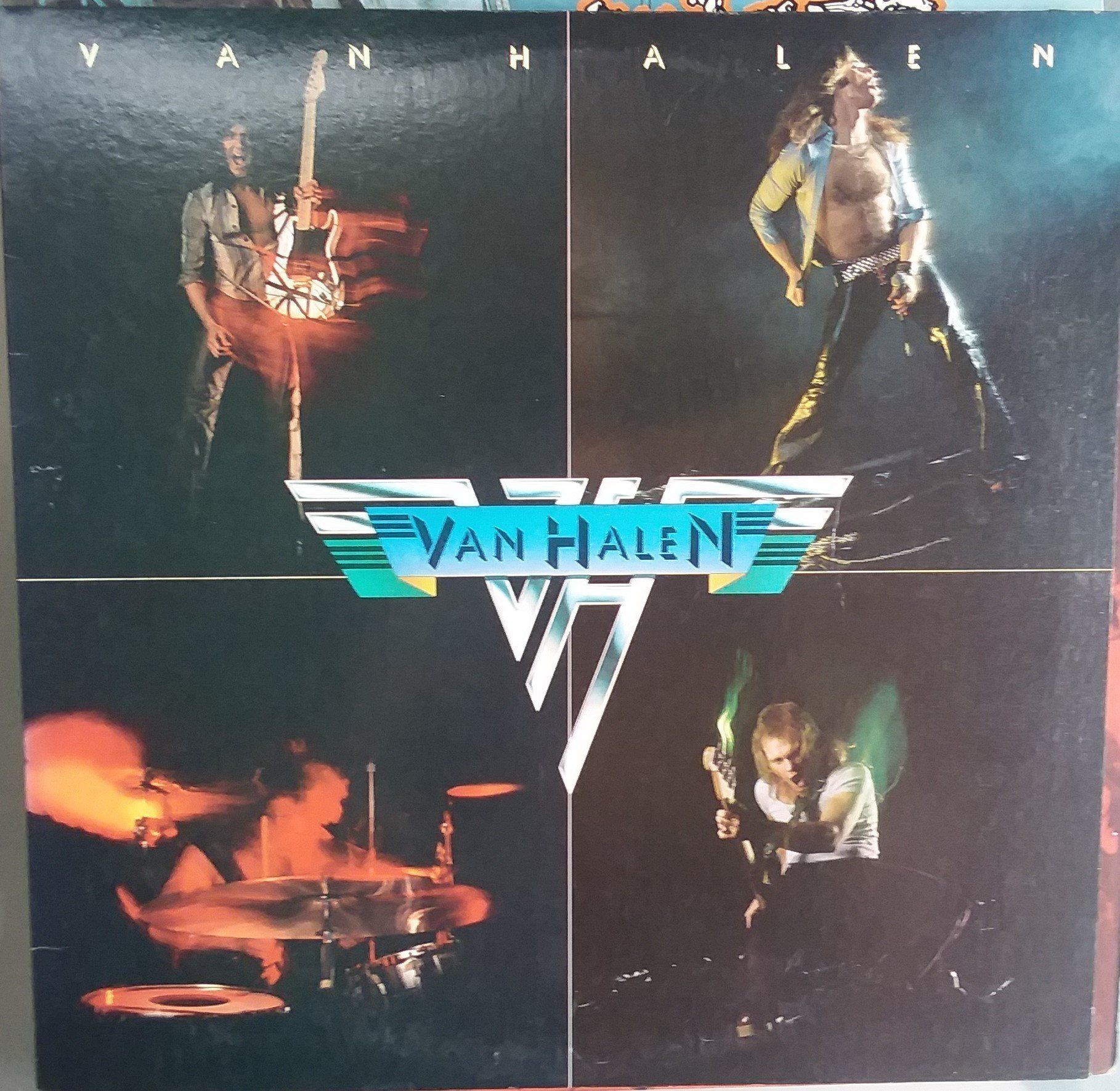 Van Halen Debut Album Vintage Record Album Vinyl Lp Classic Rock And Roll Eddie Van Halen American Rock Classic Rock And Roll New Vinyl Records Van Halen