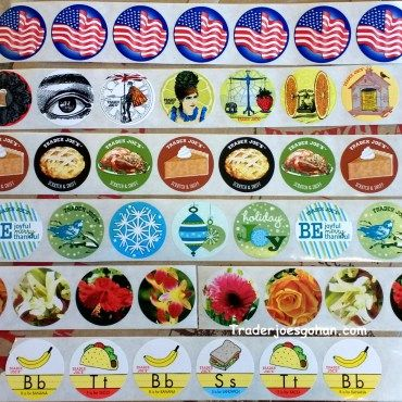 Trader Joe's Stickers and Scratch N' Sniff Stickers | #TraderJoes #Stickers  #ScratchNSniffStickers #トレーダージョーズ #ステッカー