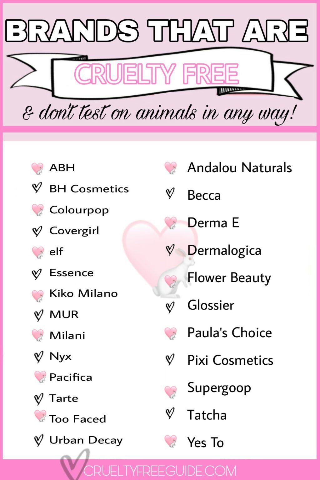 Drugstore Cruelty Free Makeup Brands 20   Cruelty Free Guide ...