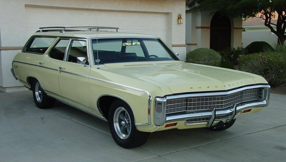 1969 Chevrolet Kingswood Station Wagon Cars Station Wagon