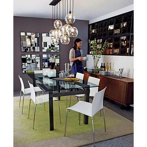 Perspective Mirror In Wall Décor Cb2 Mirror Dining Room Modern Floor Mirrors Modern Mirror Wall