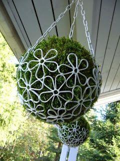 Hanging basket balls. Oh my