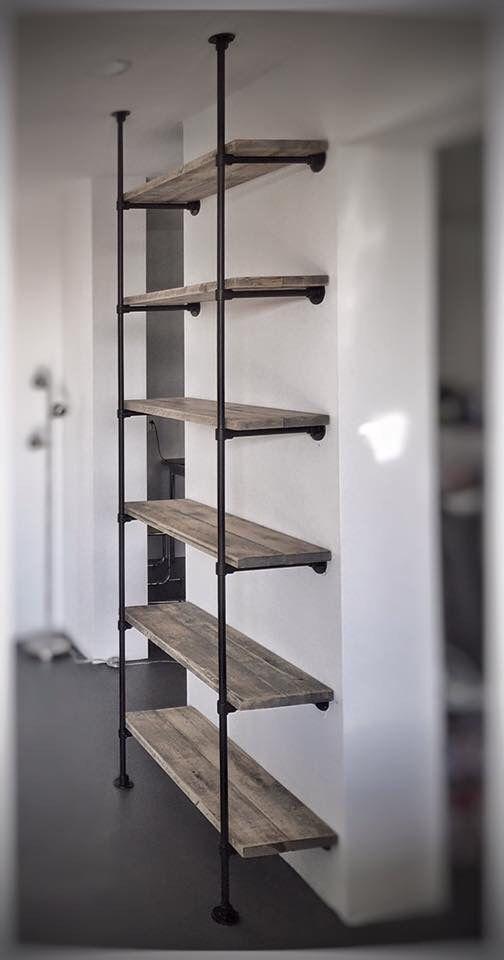25 beste idee n over opberg wandplank op pinterest een boekenkast inrichten openhaard for Decoreren een studio