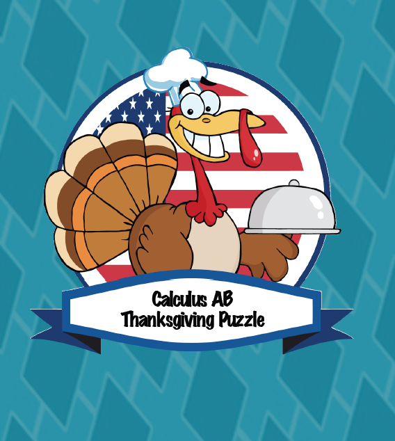 Calculus Thanksgiving Review Puzzle | Mathtastic Teaching