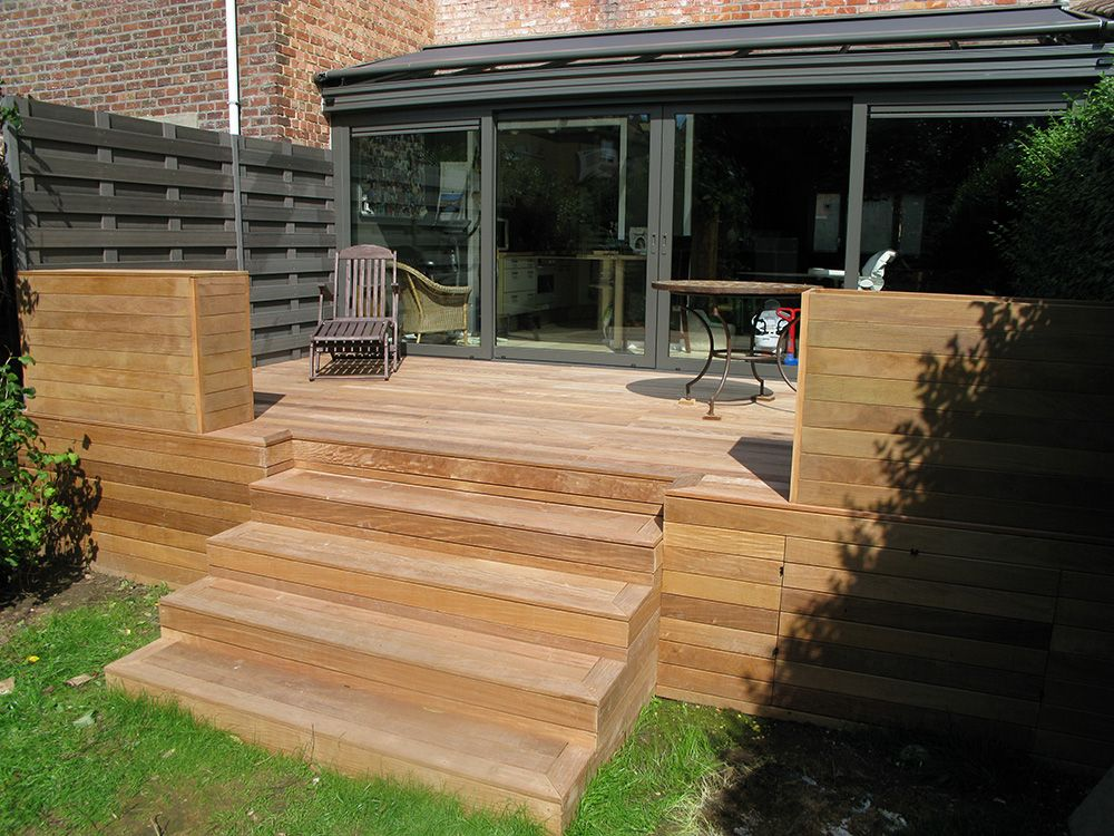 Terrasse en bois fixations visseries invisibles hapax for Photos terrasse en bois