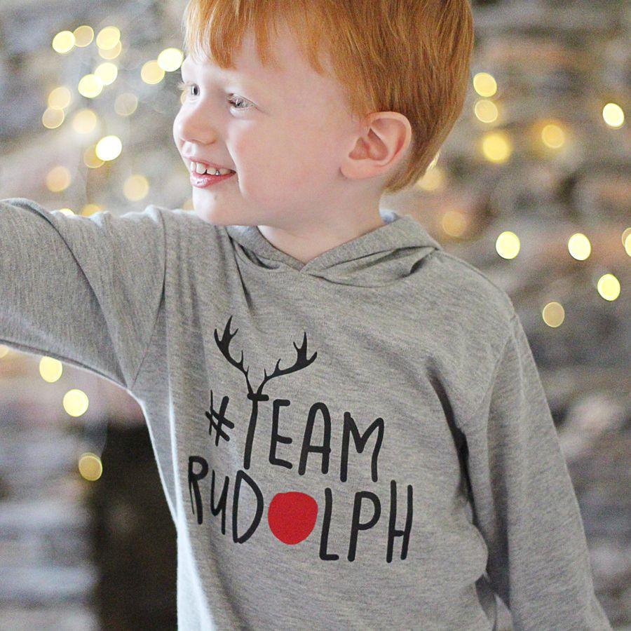 3d71e2bf Team Rudolph Christmas T Shirt | T-shirt Ideas | Christmas jumpers ...