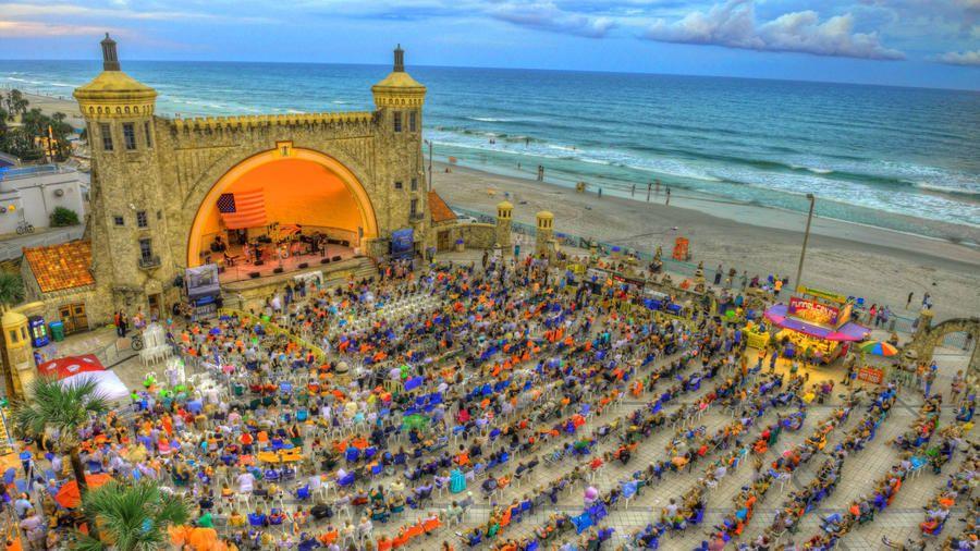 Bandshell Summer Concert Series Daytona Beach Florida Vacation Florida Beaches Daytona Beach Florida