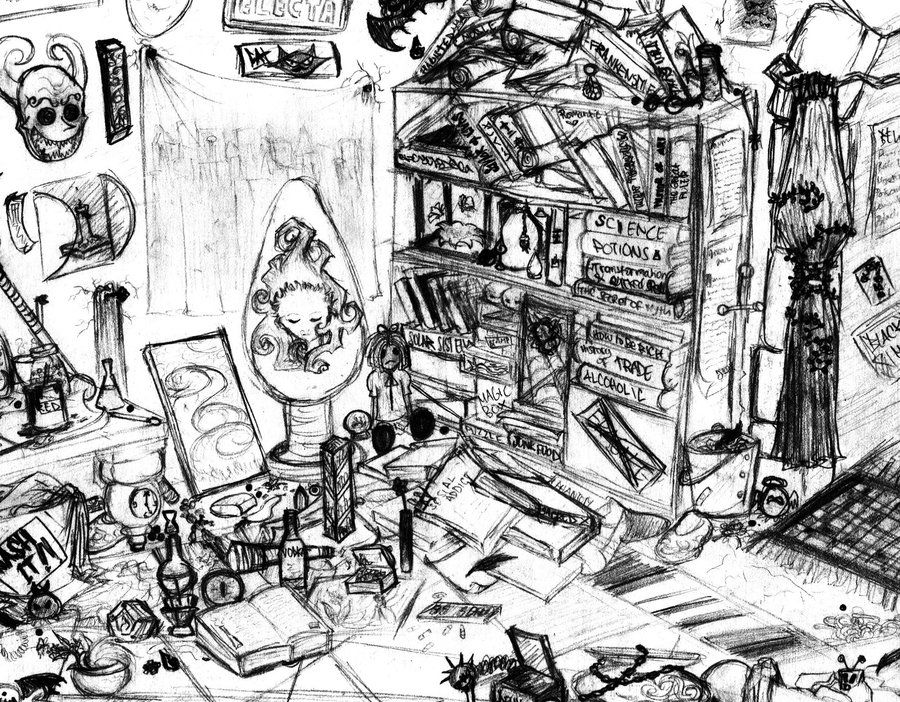 Messy Room By Psychoafro Idea File Messy Room Pinterest