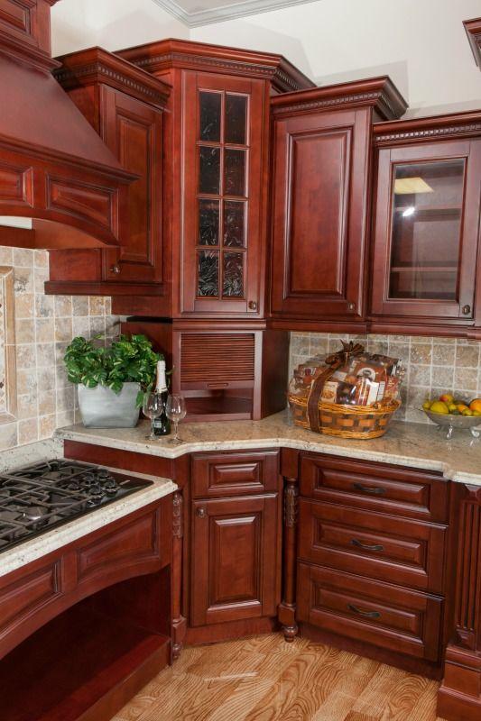 Sonoma Merlot Ready To Assemble Kitchen Cabinets Assembled Kitchen Cabinets Kitchen Cabinets Solid Wood Kitchen Cabinets