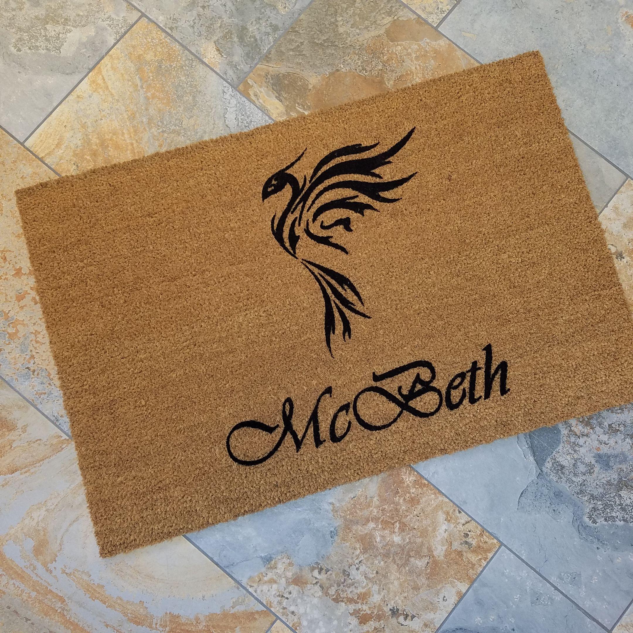Personalized door mats welcome mats custom doormats