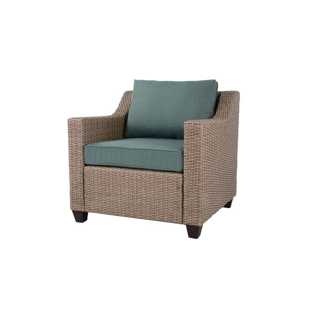 Incredible Hampton Bay Amber Grove Natural Brown Stationary Resin Bralicious Painted Fabric Chair Ideas Braliciousco