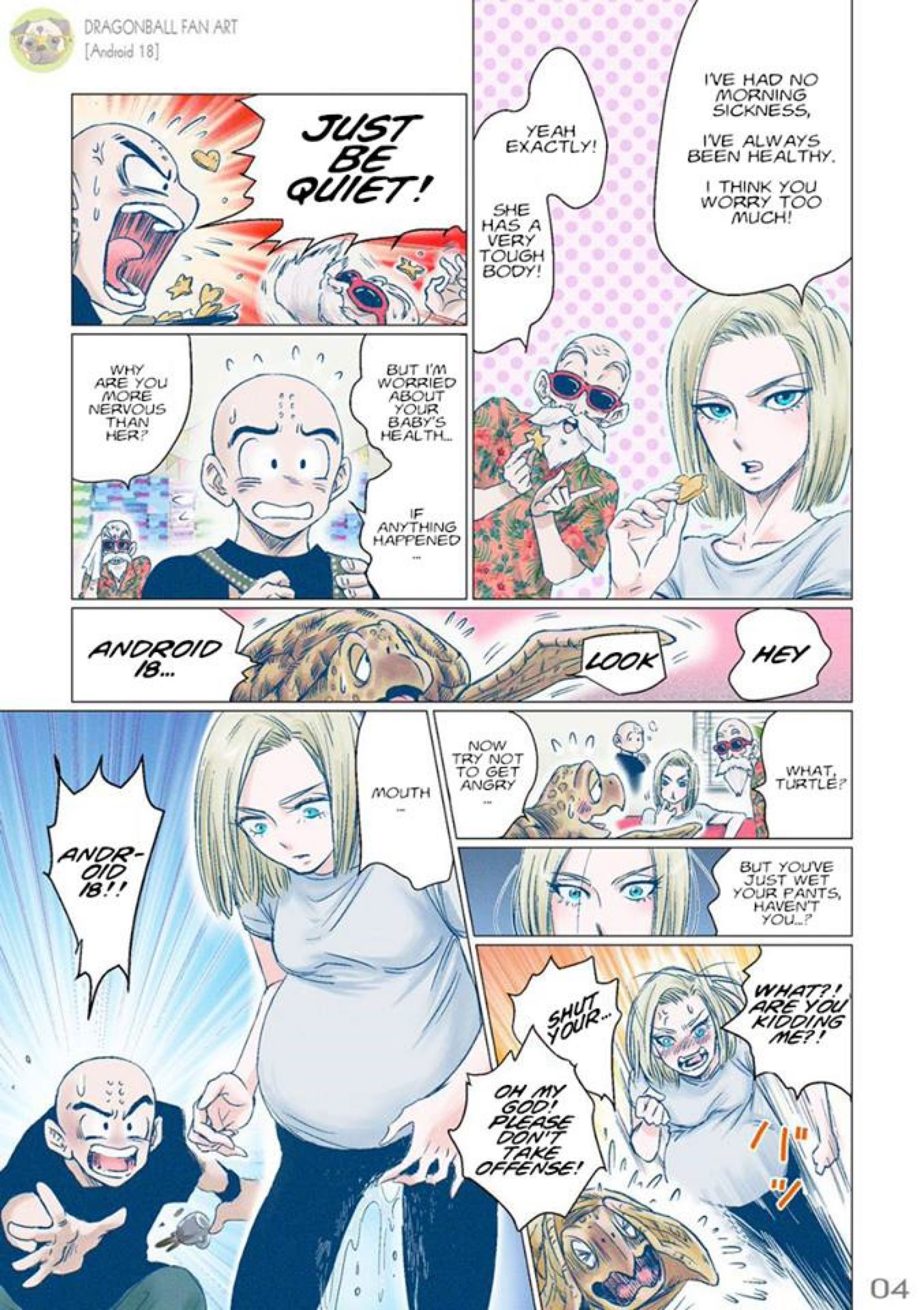 How Can Android 18 Have A Baby : android, Dragonball