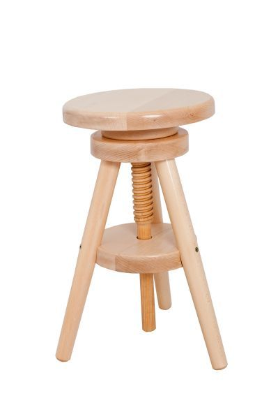 Marvelous Tonby Adjustable Screw Seat Kitchen Bar Stool Wooden Frame Caraccident5 Cool Chair Designs And Ideas Caraccident5Info