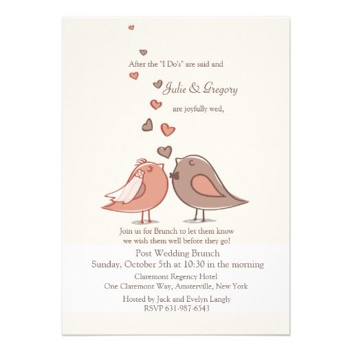 Mated Post Wedding Brunch Invitation Shoppingplease follow the - Lunch Invitation Templates
