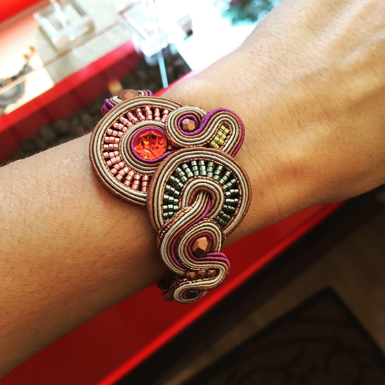 Harper bracelet. #doricsengeri #bracelet #design #metalliccolors ...