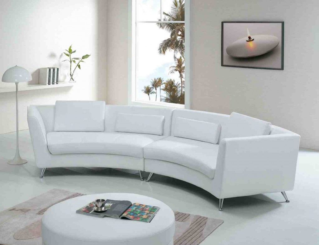 Curved White Sofa Curved Sofa White Leather Sofas Curved Couch