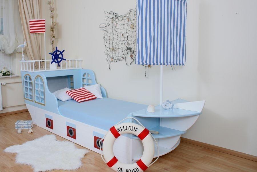 Kinderbett junge  Kinderbett Boot Maritim | Babyzimmer gestaltung | Pinterest ...
