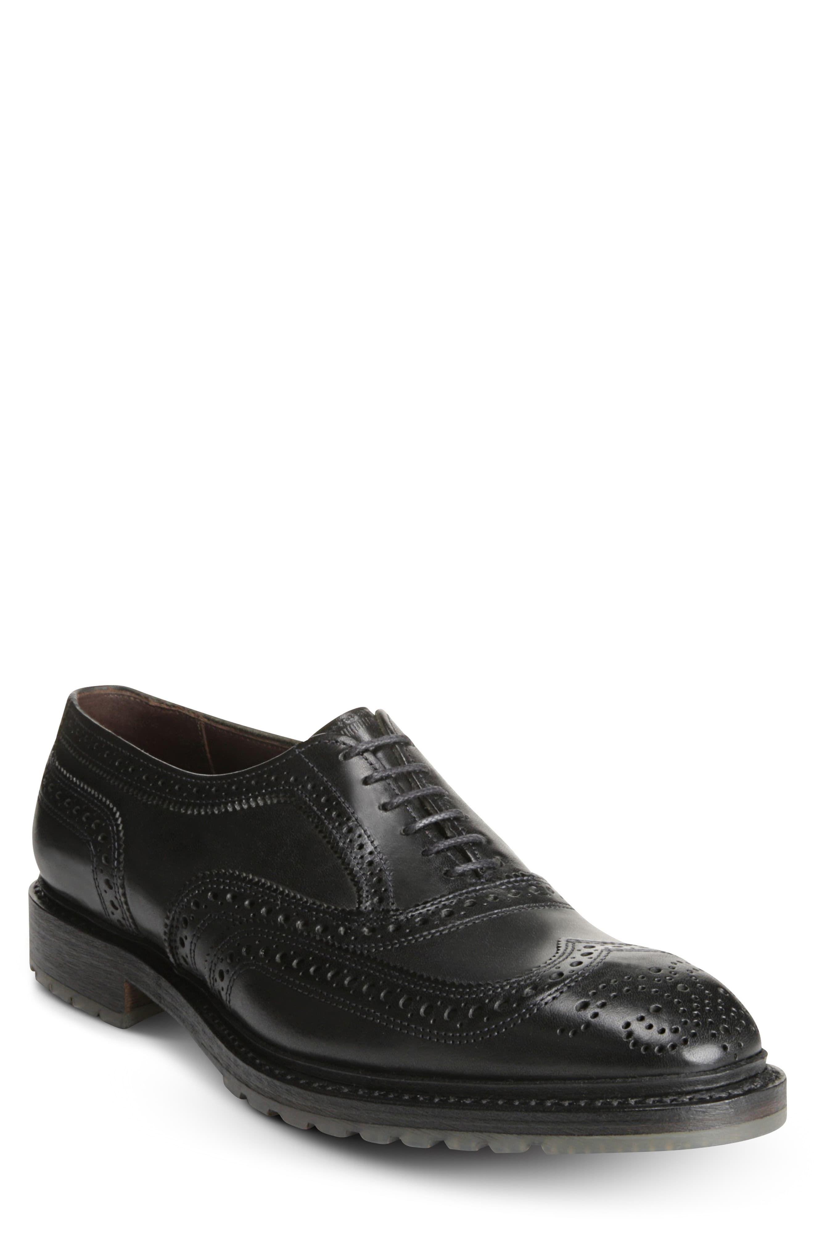 Men's Allen Edmonds Mctavish Lugged Wingtip Oxford, Size 8 D