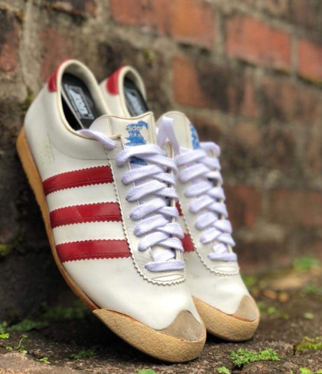 new concept f4e4c 30200 Early vintage Vienna made in West Germany - unusual toe box... Adidas Og