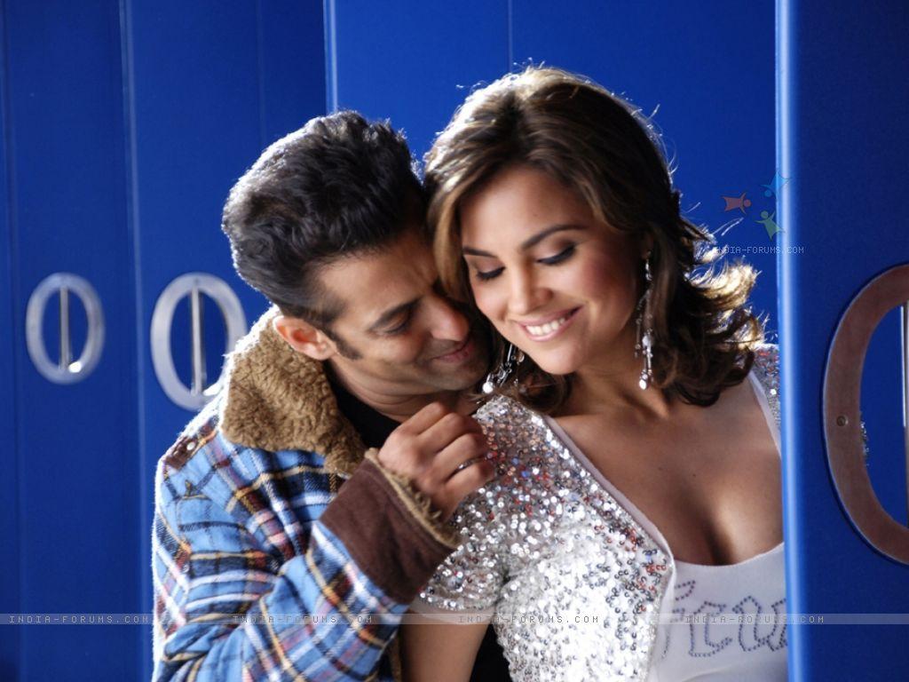 Salman Khan & Lara Dutta