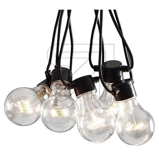 Feestverlichting Led 19 5m Met 20x Led Lampen Wit Ip44 Met 24v Trafo Feestverlichting Led Lamp Led