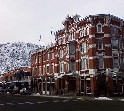 Beautiful Historic Strater Hotel In Downtown Durango Colorado
