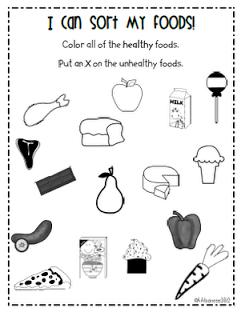 Mrs Albanese S Kindergarten Class February 2012 Worksheets For Kids School Health Kindergarten Worksheets