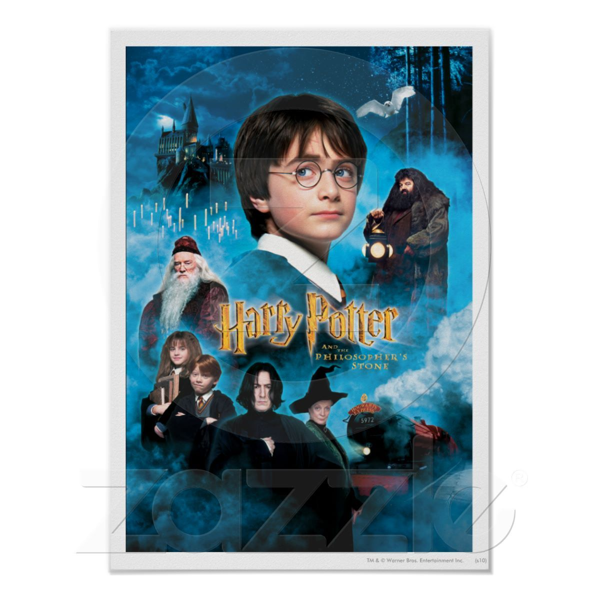 Philosopher S Stone Poster Zazzle Com In 2021 Harry Potter Movies Harry Potter Film Good Movies