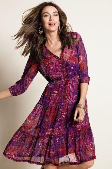 Ezibuy - nice dress, love the colours