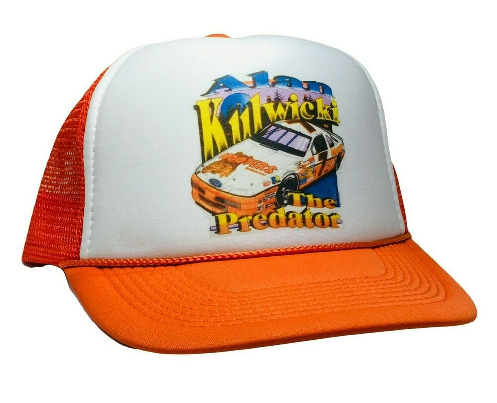 Honda Motorcycle Hat Racing Vintage Style Trucker Mesh Back Snapback Gold Wing